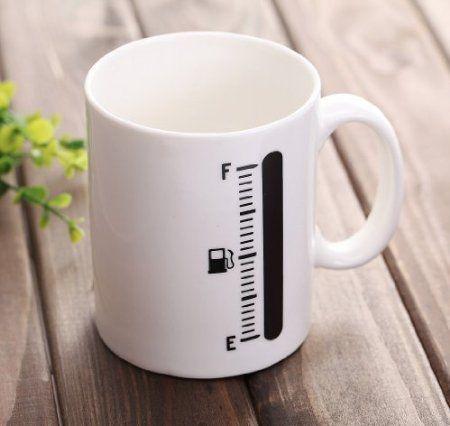 Amazon.com: Tank Up Heat Sensitive Mug: Kitchen & Dining