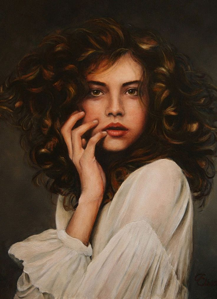 Liseth Visser | Classical realism, Realism art and Woman face