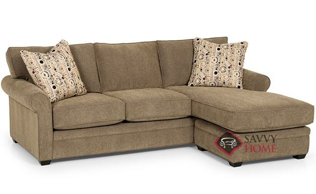 The 283 Chaise Sectional Queen Sleeper Sofa by Stanton