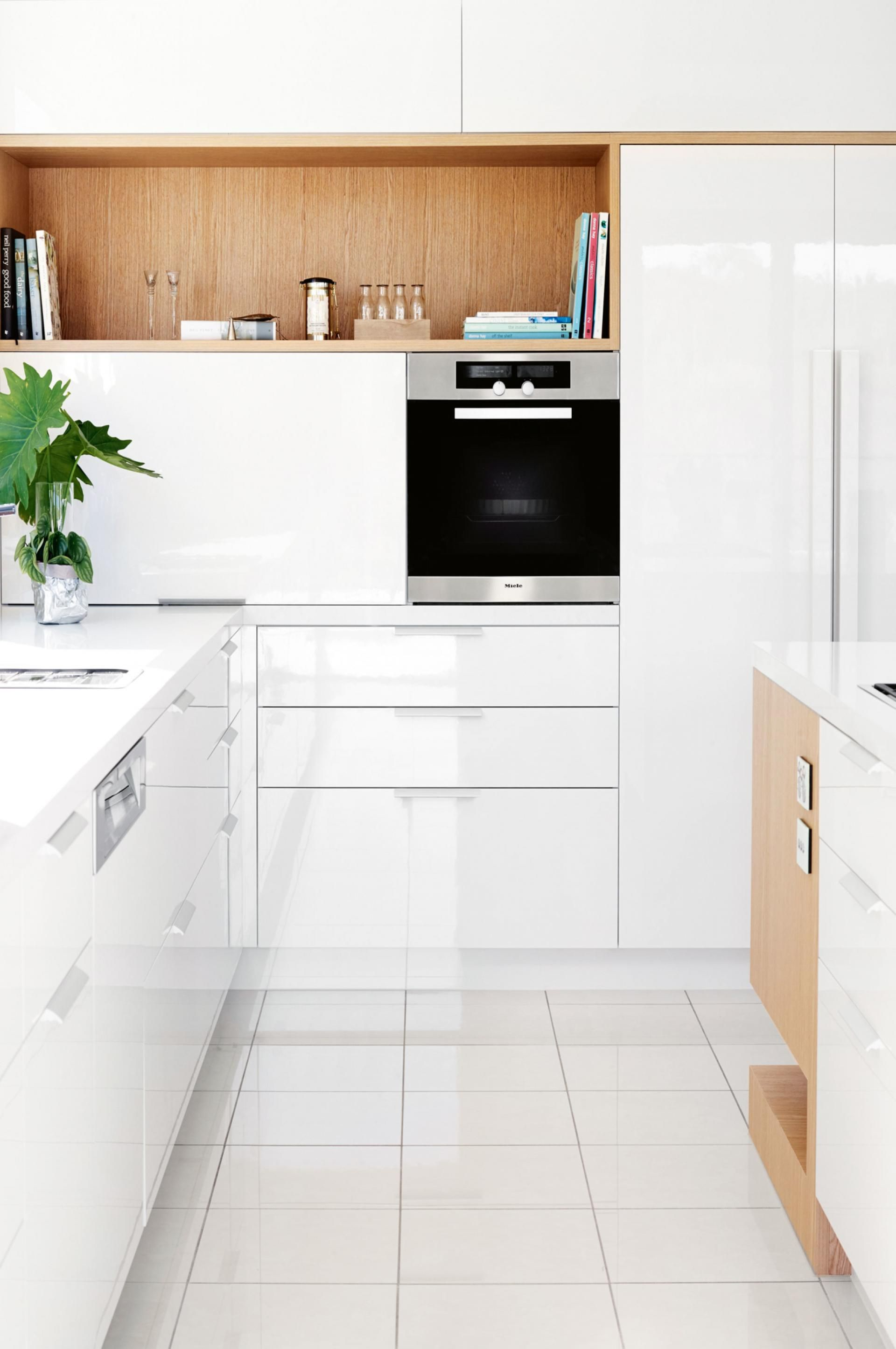 How to double your kitchen storage. Photography by Toby Scott ...