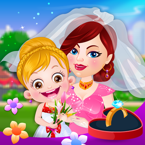 Baby Hazel Flower Help To Be A Perfect On Her Aunt S Wedding Day Android Casual By