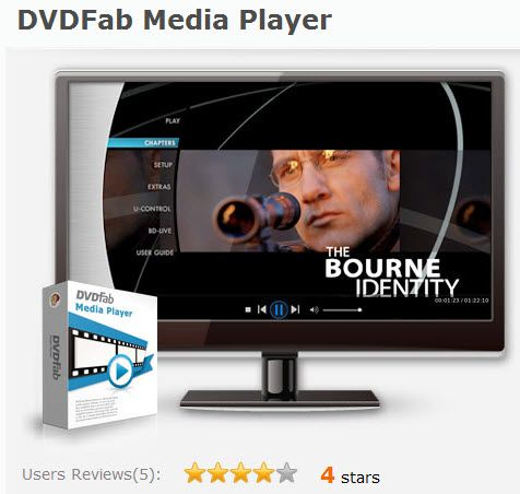 [Giveaway] DVDFab Media Player 1 year license
