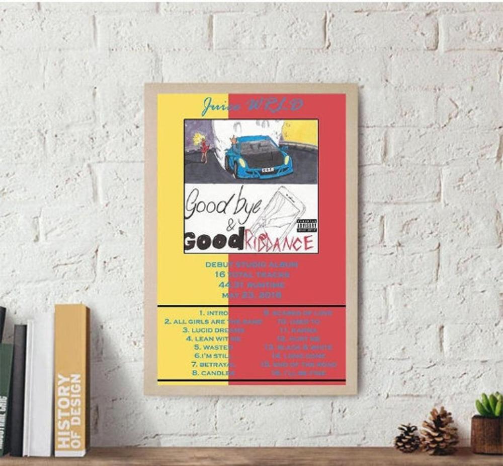 Juice WRLD Poster / Juice WRLD Goodbye & Good Riddance