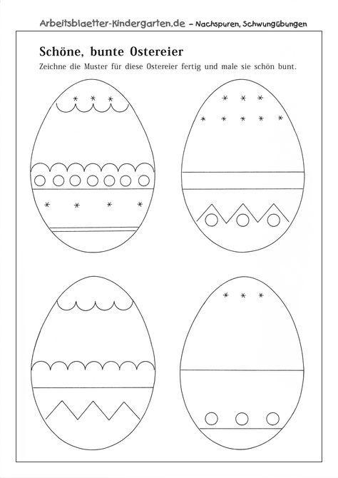 kindergarten arbeitsbl tter ostern. Black Bedroom Furniture Sets. Home Design Ideas