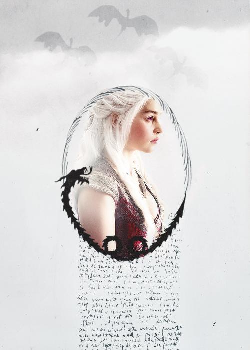 Daenerys Targaryen: Dragon's Daughter #got #asoiaf