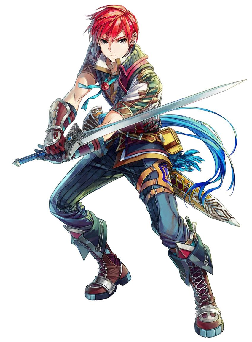 Ys Character Design : Adol christin awesome character designs and concepts