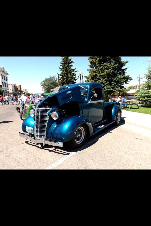 Rock Springs, Wyoming Car Show 2013. Nice old truck ;) Photo by ...