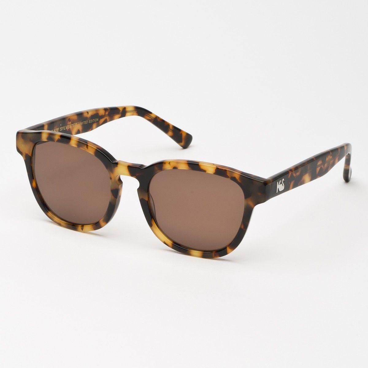 Eyewear - Kate Sylvester Sunglasses: Holly - Honey Tort