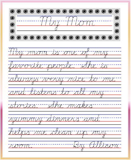 Cursive Writing Practice Sheets For Adults Pdf - cursive ...