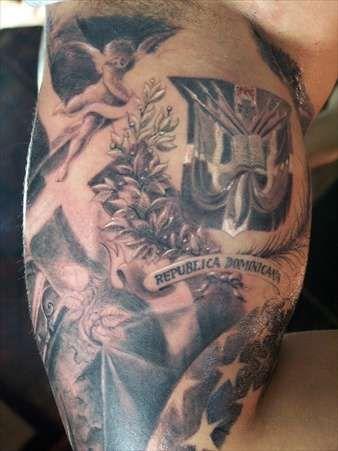 dominican crest 2 tattoo pinterest tattoo arm