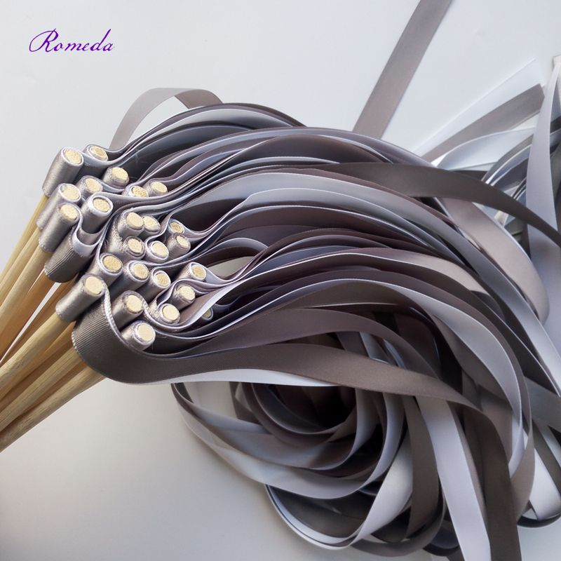 Cheap ribbon wands, Buy Quality ribbon sticks wedding directly from ...