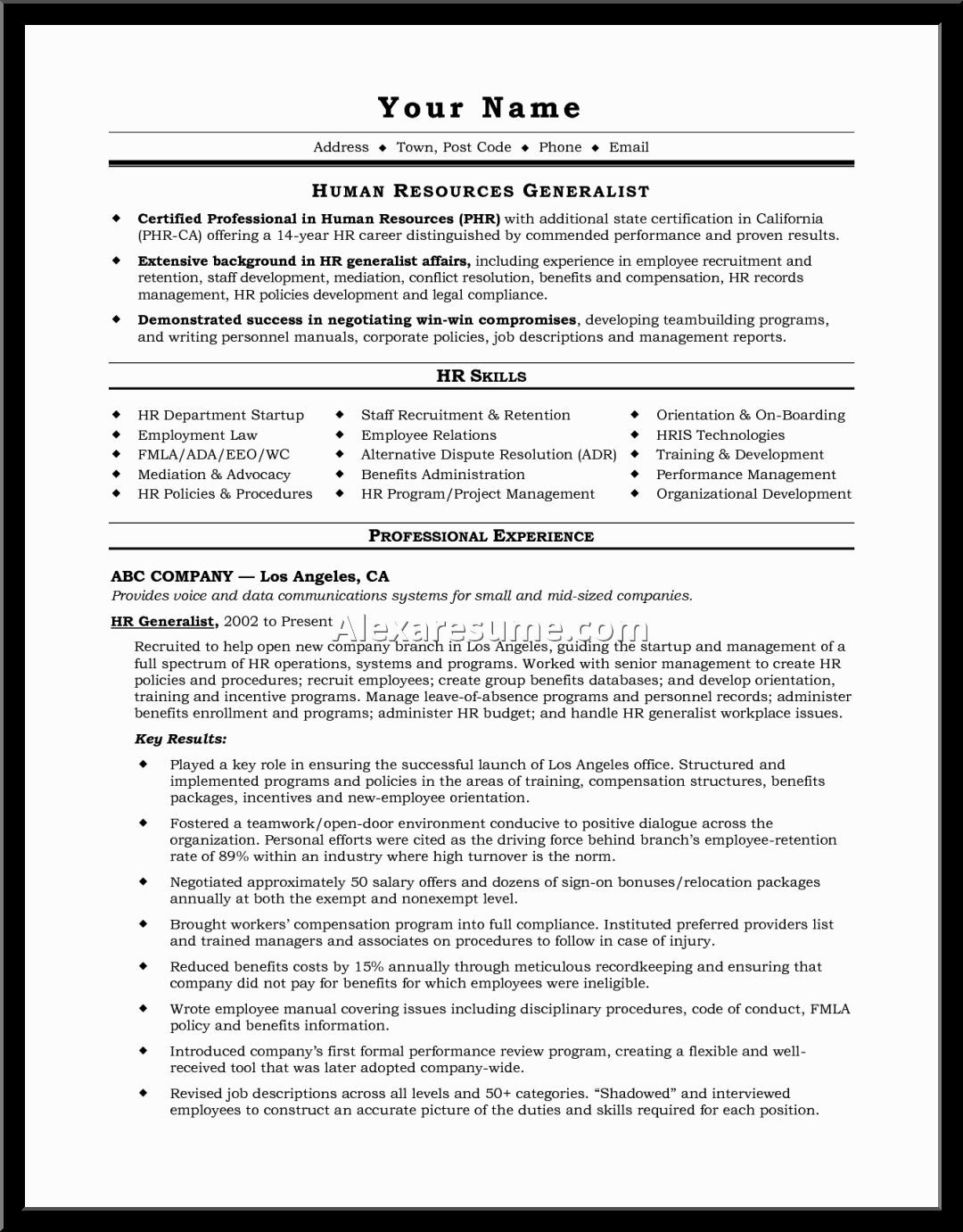 A much needed resource when creating a resume