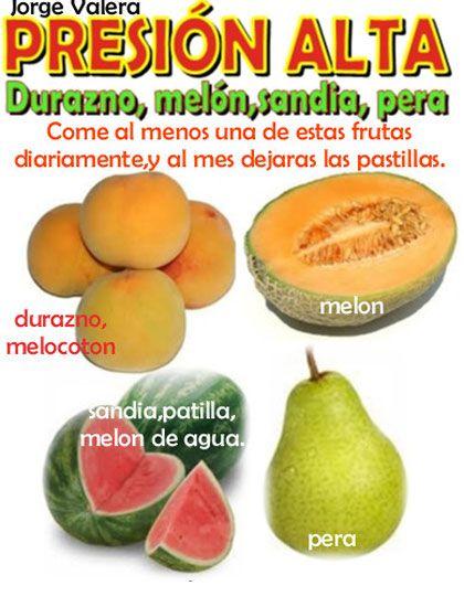 alimentos para tension arterial alta