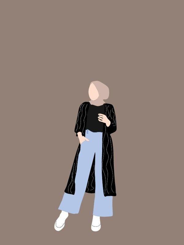 Subscribe to receive free email. Gambar Pp Whatsapp Hijab Aesthetic Kartun Hd Download In 2021 Kartun Desain Karakter Wanita Kartun Hijab