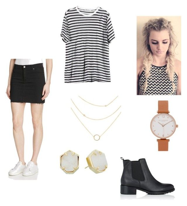 """""""Untitled #106"""" by ashleighyeager on Polyvore featuring Bardot, T By Alexander Wang, Olivia Burton, Kendra Scott and Barneys New York"""