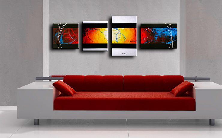 Modern Interieur Schilderij : Dit luik schilderij mist doek om een luik schilderij te zijn