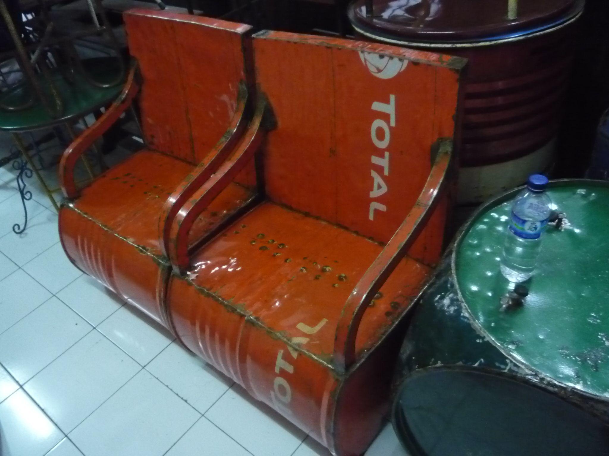 oil drum furniture pinterest oil drum drums and barrels. Black Bedroom Furniture Sets. Home Design Ideas