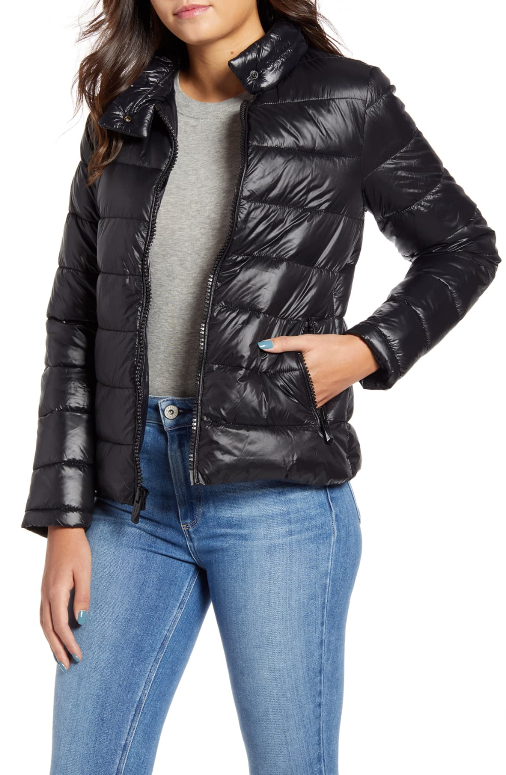 Marc New York Packable Puffer Jacket Nordstrom Marc New York Jackets Puffer Jackets [ 1533 x 1000 Pixel ]