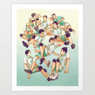 Aobajousai Art Print by viria