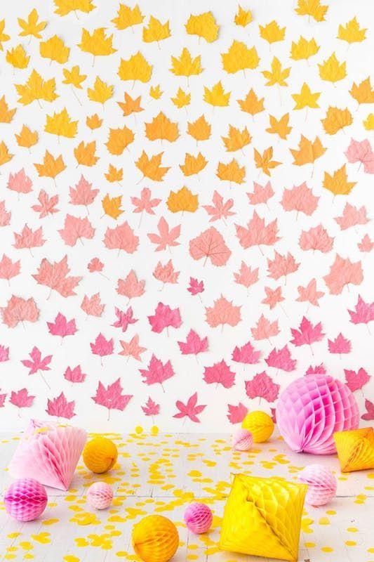 Modern Ways To Use Fall Foliage In Your Home This Season #happyfallyallwallpaper