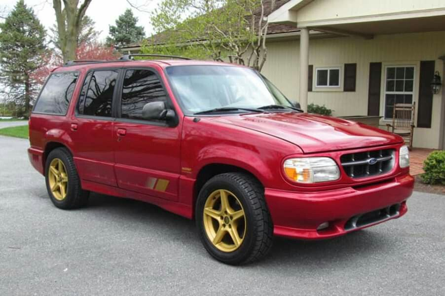 1998 Ford Explorer Saleen Xp8 Supercharged In 2020