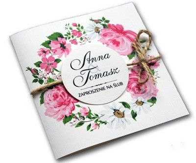 Kup Teraz Na Allegropl Za 249 Zł Zaproszenia ślubne Na ślub