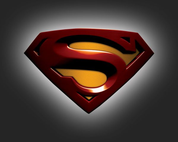 Superman_3D_Logo Superman logo, Superman wallpaper