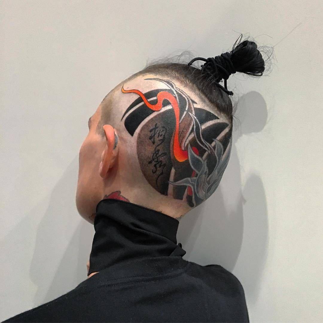 Traditional Japanese tebori tattoo by Sousyu Hayashi