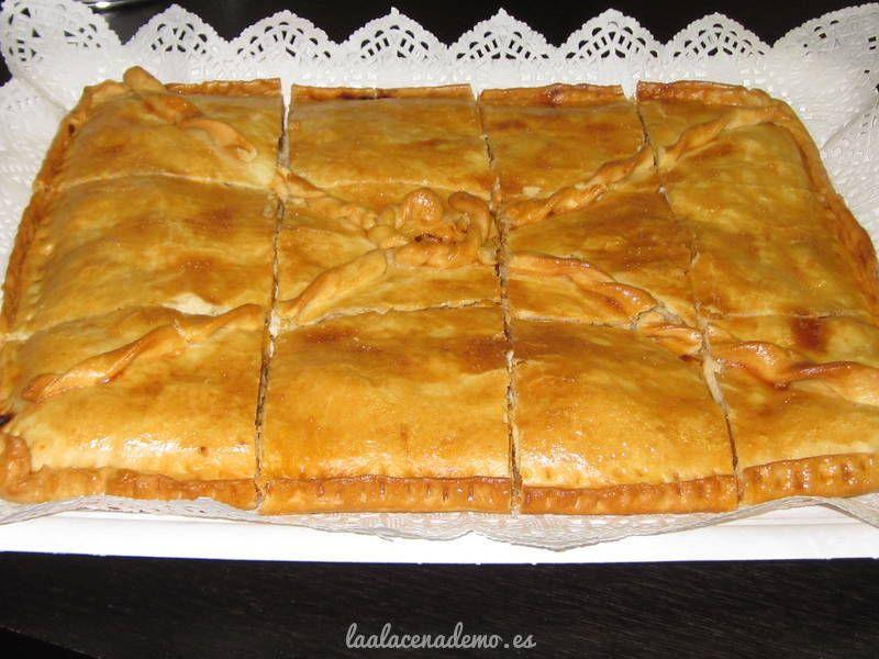 Empanada Gallega De At煤n Thermomix La Alacena De Mo Receta Receta De Empanadas Empanadas De Atún Recetas