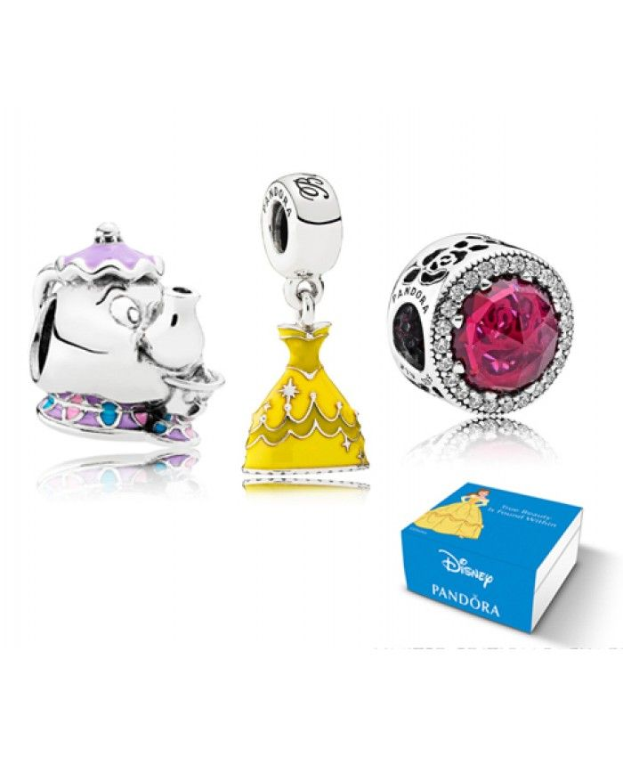 e1d71cf16 ... shopping pandora disney beauty and the beast theme charm gift set uk  9fb82 54ad0