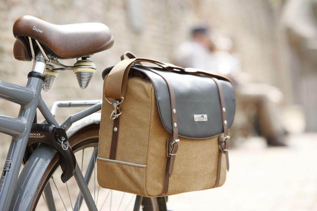 Vélo Selle city-bike Vélo Selle Unisexe Marron Foncé
