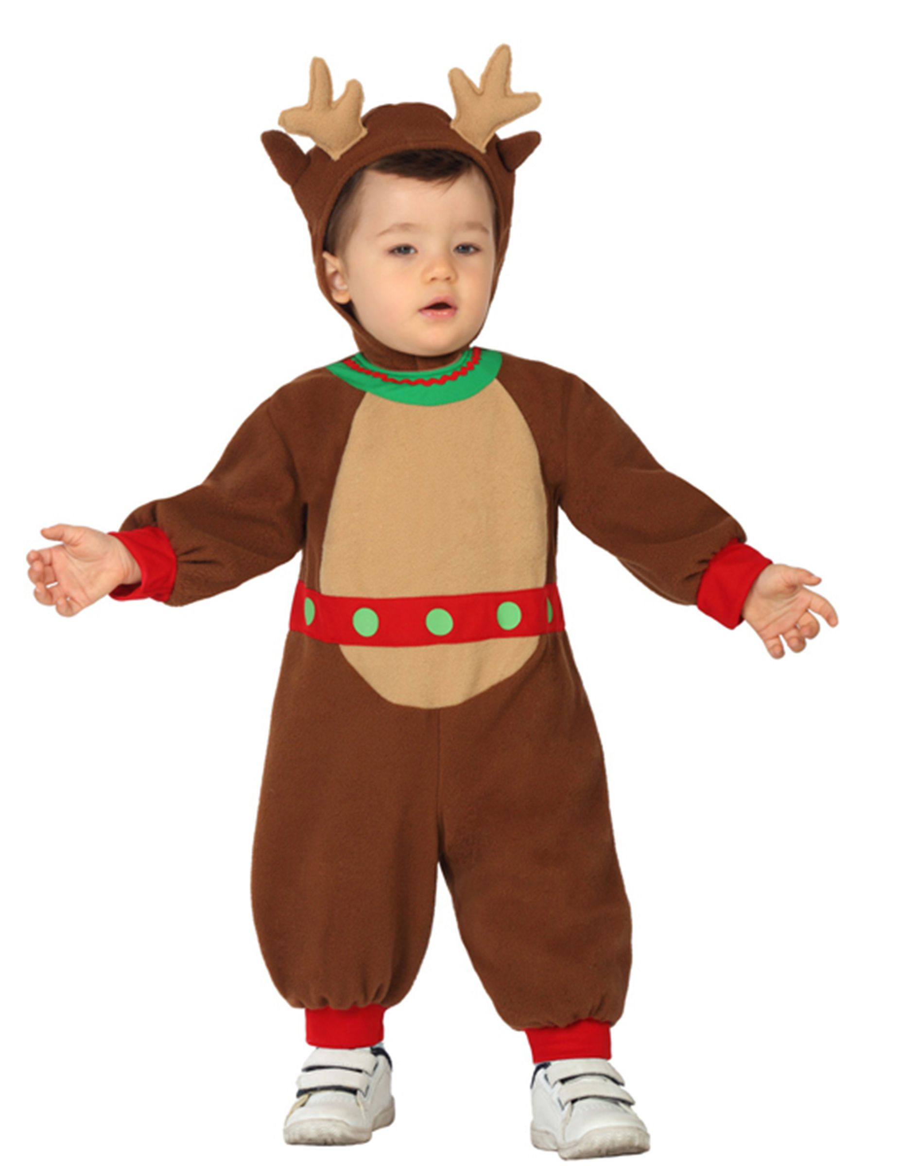 ccd4a0d50 Disfarce pequeno Rena bébé Natal