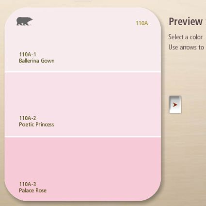 Light Pink Paint Colors Color Blush