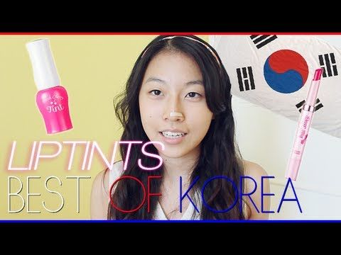 Best of Korea: Best Korean Lip Tints! - YouTube
