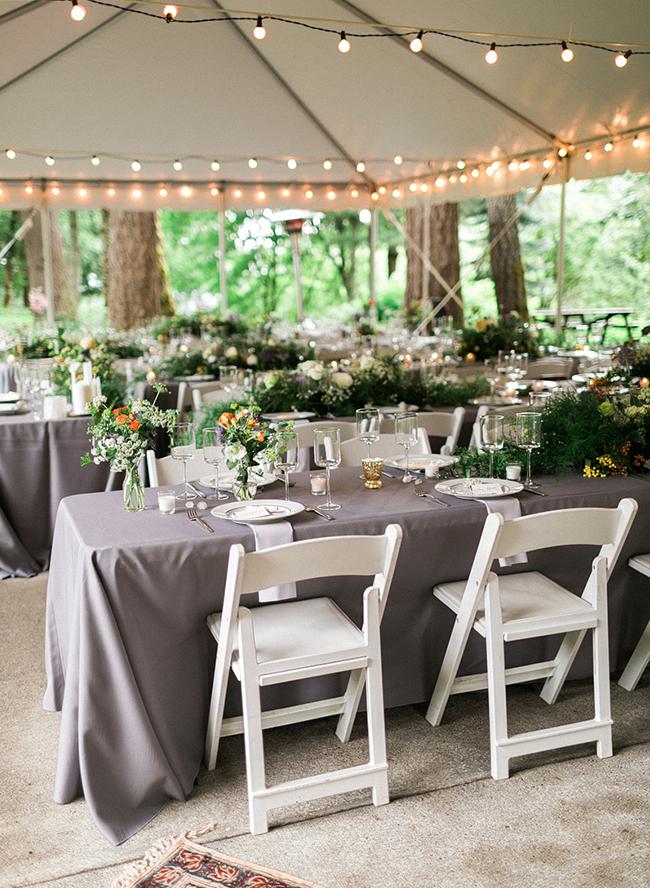 Enchanting Forest Wedding in Portland, Oregon Wedding