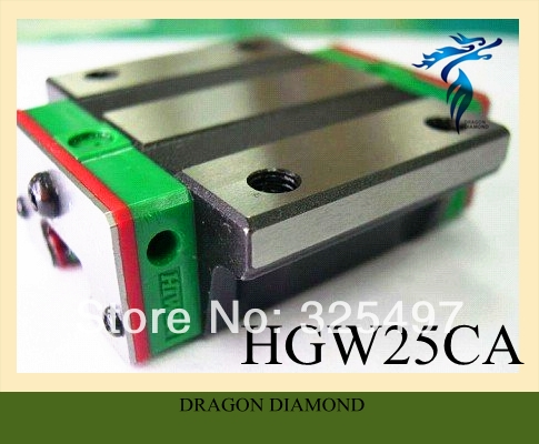 32.50$  Buy here - http://aiuzq.worlditems.win/all/product.php?id=1650051328 - 1pcs HIWIN Linear Guide Flange Carriage Blocks HGW25CA  For CNC Router