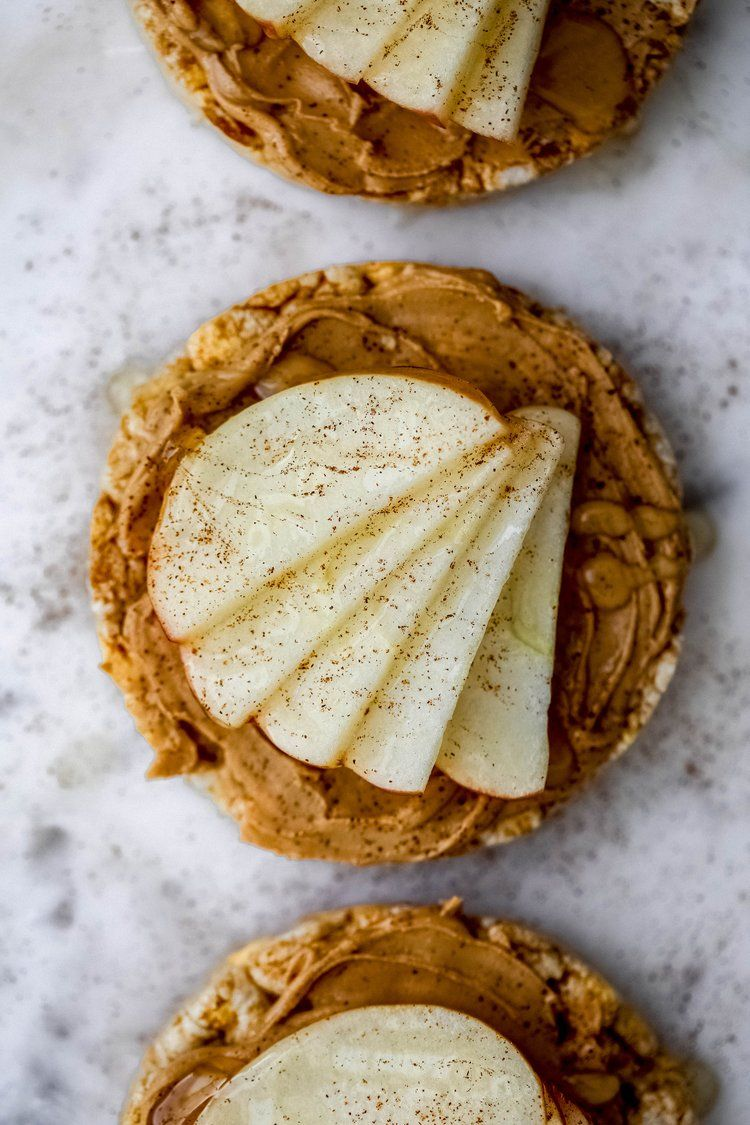 Caramel apple rice cake snack rice cake snacks caramel