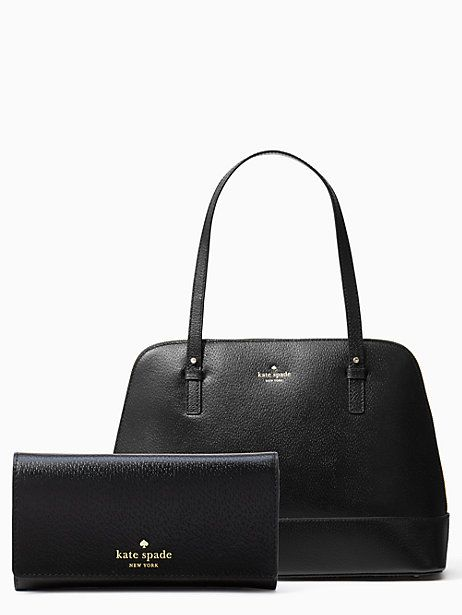 b0c26715106 Kate Spade Grand Street Rachelle + Nika, Black | Products | Kate ...