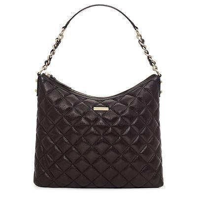 167095aba8f98 Kate spade new york gold coast medium serena black handbag ...