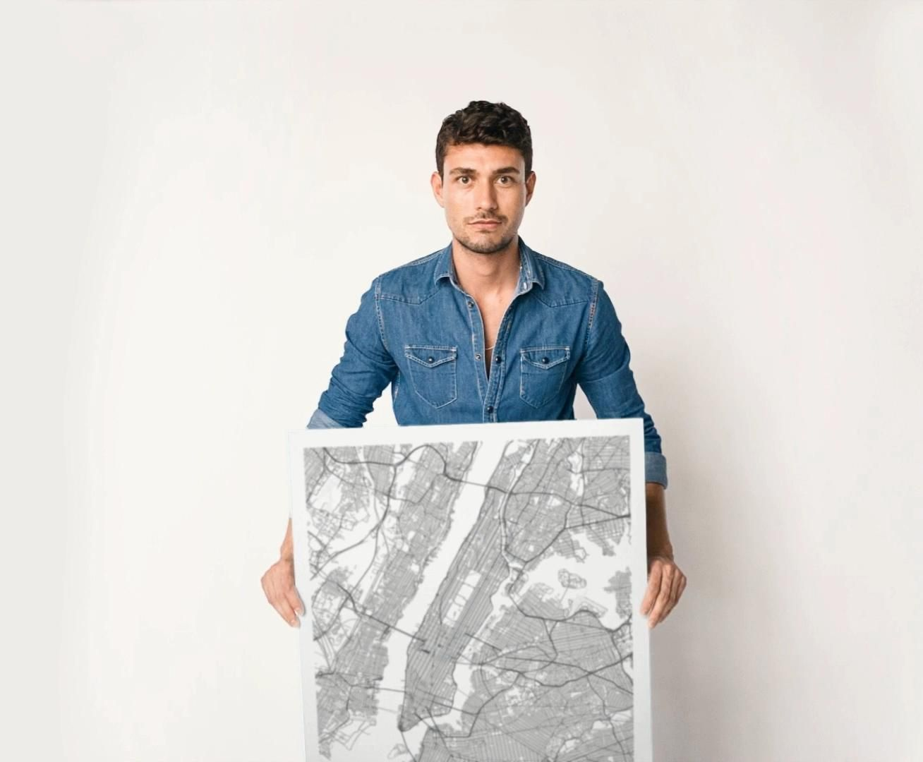 City Map Prints, Choose From Over 1000 Cities, Premium Quality prints