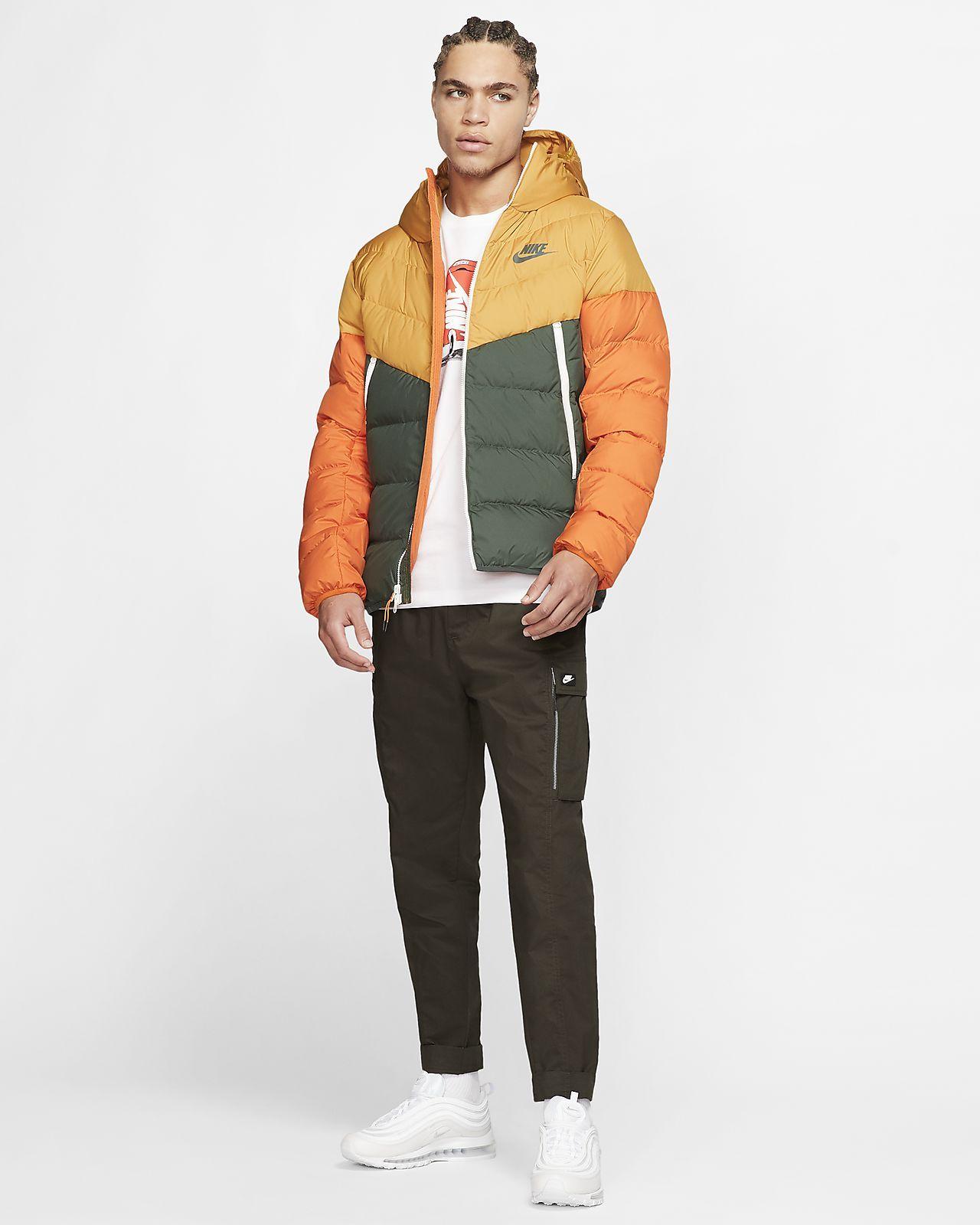Nike Sportswear Windrunner Down Fill Hooded Puffer Jacket Nike Com Jackets Sportswear Nike Sportswear [ 1600 x 1280 Pixel ]