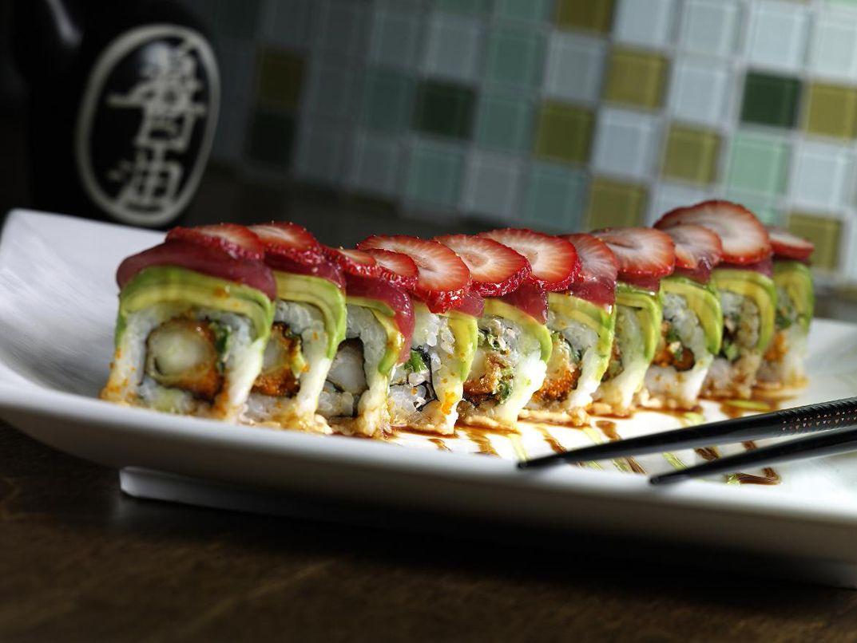 The Birthday Roll @ Piranha Killer Sushi, in Austin, TX