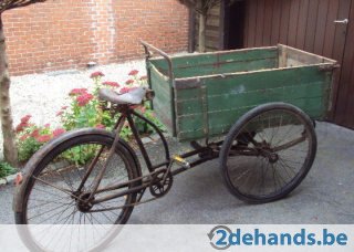 Fonkelnieuw Oude Triporteur - Te koop | 2dehands.be | Oude fietsen - Fietsen YW-94