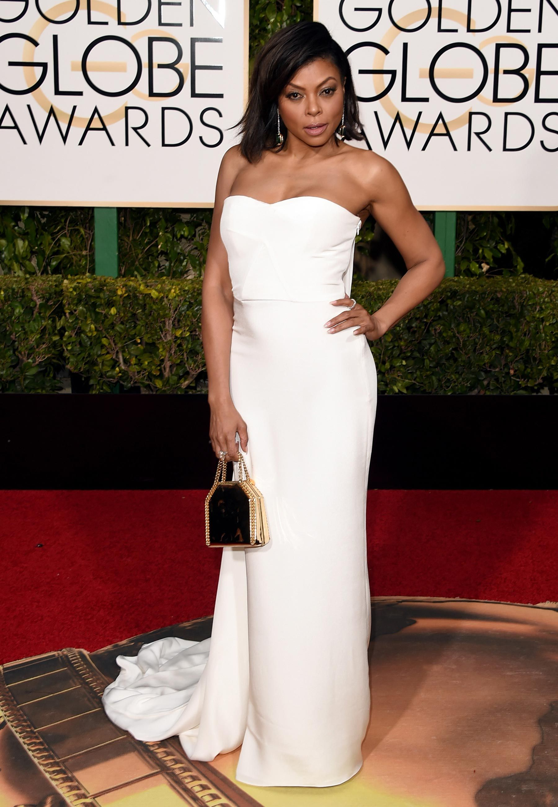 Vestidos do tapete vermelho do Golden Globe Awards 2016 | Globo de ouro ...