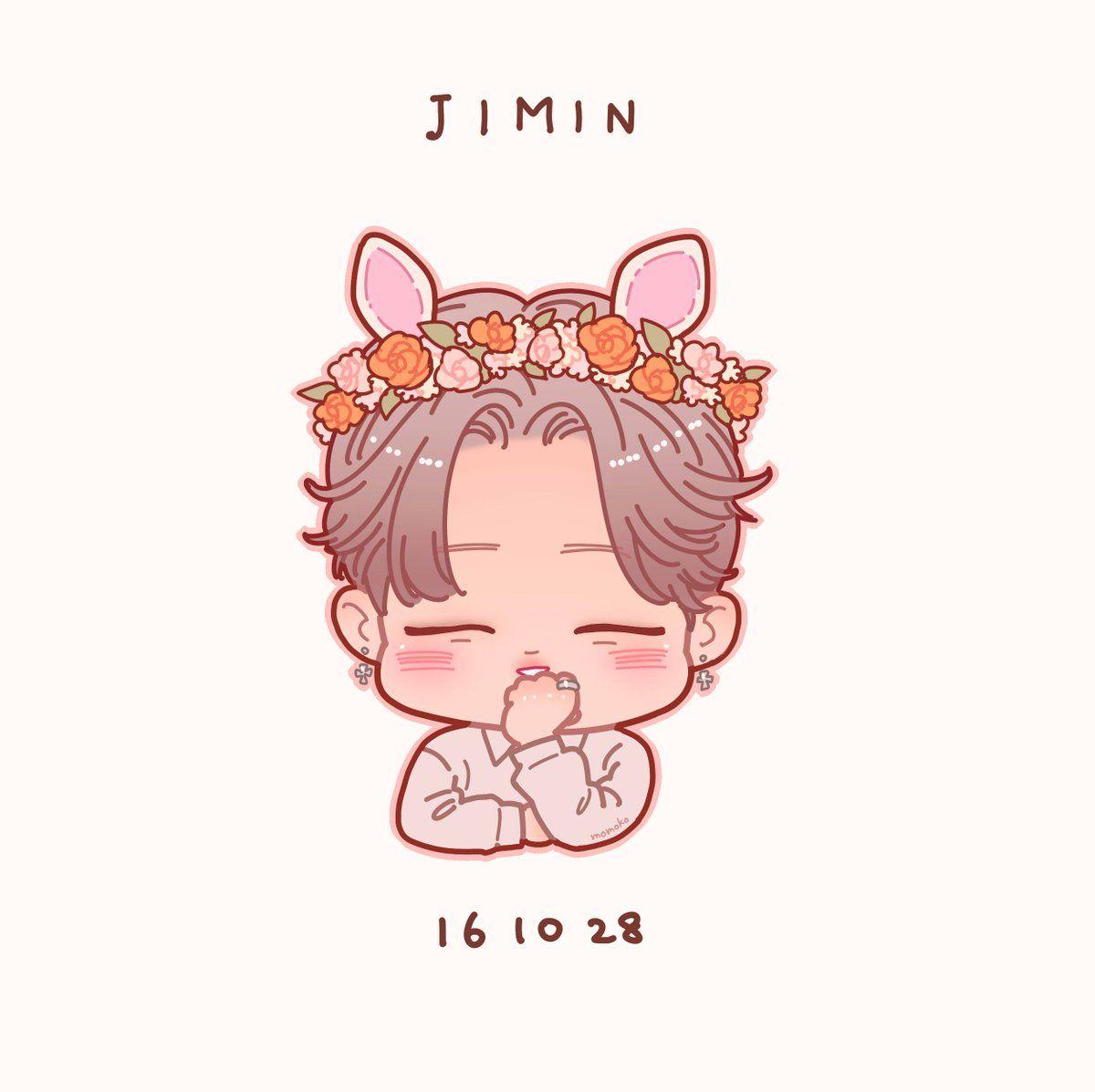 FanArt || Jimin || BTS♥ | drawing | Pinterest | Chibi, Dibujo y Oppas