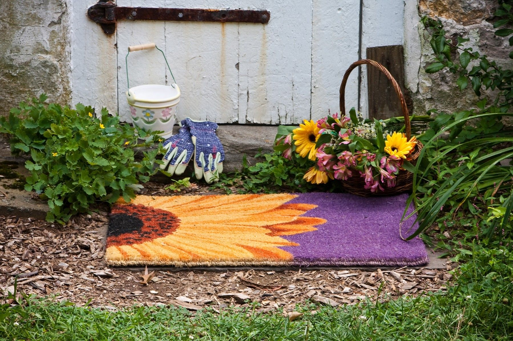 mats that a garden barrier works mat finally weed