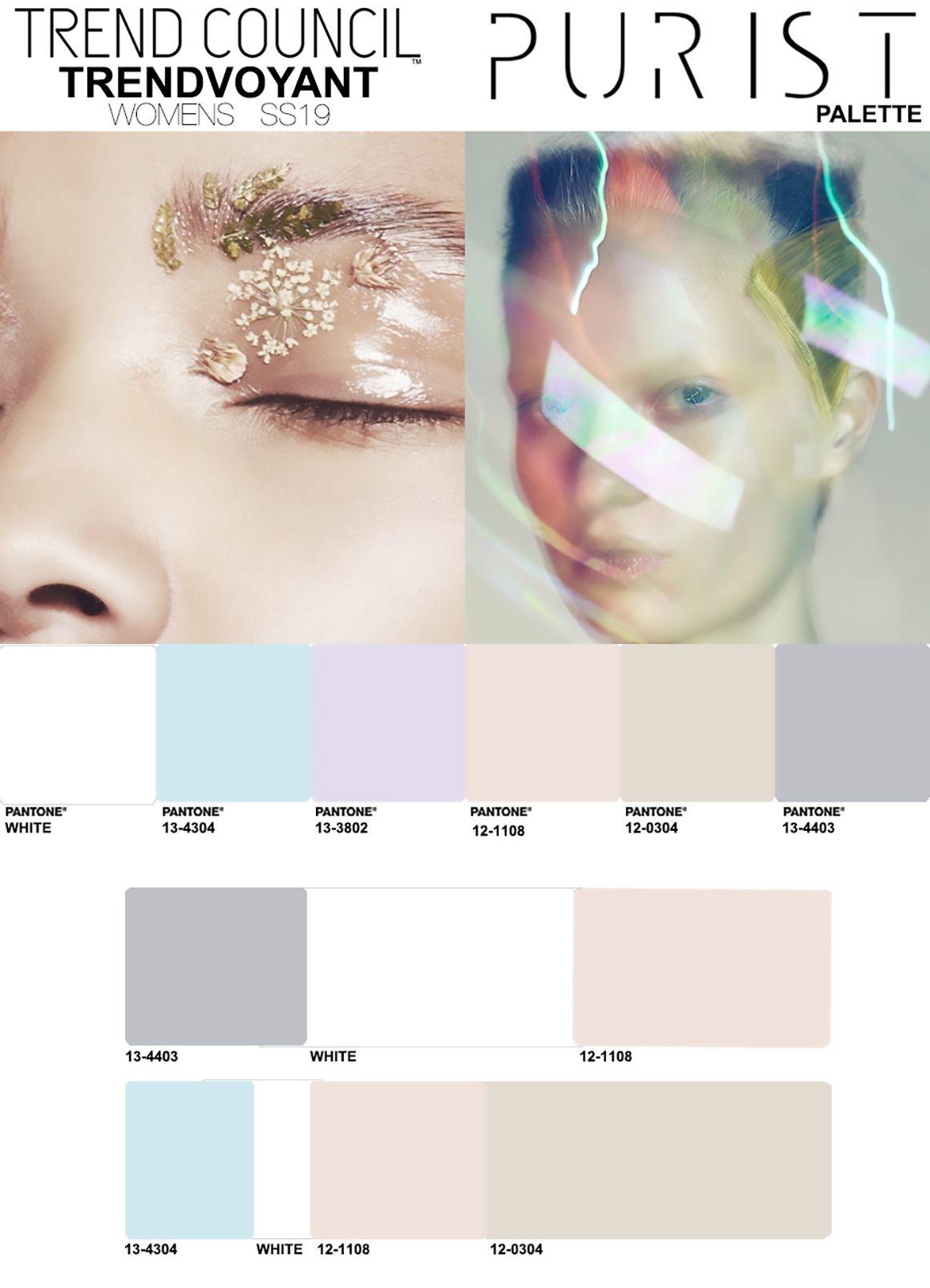 SS19 Purist Color 2018 Pinterest