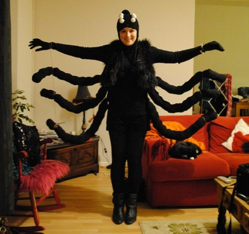 Spider costume google search spiders pinterest spider halloween costumes solutioingenieria Image collections