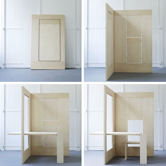 Architecture Studio Desks flks a flexible workplace: beautiful idea for artist's studio/desk