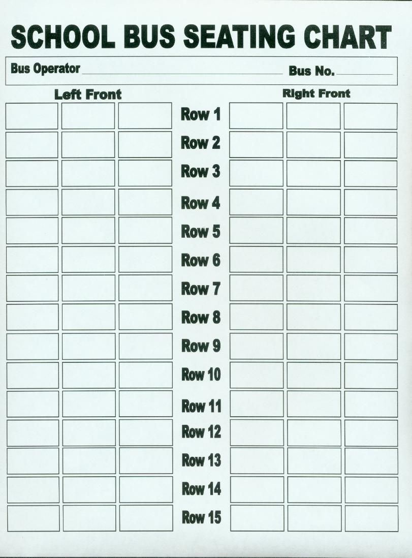 School bus seating chart driving safety buses also best images rh pinterest